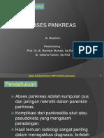 Abses Pankreas - Muslimin (PP)
