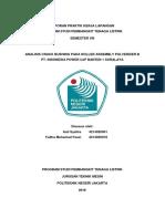 Laporan PKL BSR Halaman Awal 2