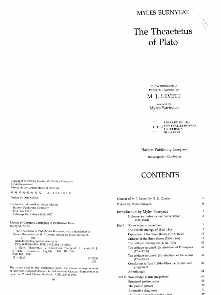 the theaetetus of plato plato socrates