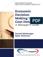 Economic Decision Making Using Cost Data