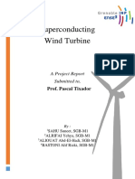 Report - Superconducting Wind Turbine