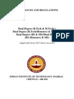Dual Degree-2015 0