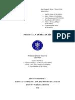 Laporan Biofisika IPB Tentang  Air