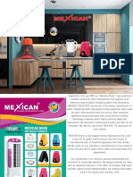 Mahadev Industries (Mexican Brand) Product Catalogue.