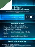 Bioteknologi 2 Def Bioteknologi Lingkungan