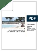 Assignment-tsunami Risk Assessment_Farhana