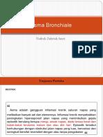 Laporan Kasus Asma Bronchiale