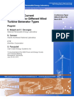 Short Circuit Current Contribution for Different Wind Turbine Generator Types