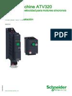 ATV320 Installation Manual SP NVE41292 02