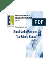 Plan MKTG La Sabana Blanca