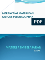 Bab Vii Materi Dan Metode Mengajar