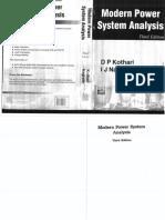 61907921 Modern Power Systems Analysis D P Kothari I J Nagrath