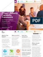 Project Delivery Capability Framework Infrastructure and Projects Authority