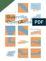 Guerrilla Open Access - Memory of the World