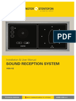 Zenitel Sound Reception Vss-V2 Installation User Manual v1.4