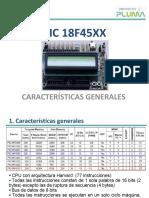 PIC18F45XX CaracteristicasGenerales Rev 160913