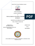Visual Display of Dabur Consumer Health Division
