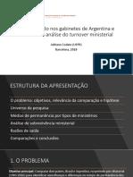 Sobrevivendo nos gabinetes de Argentina e Brasil