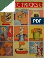 Guy Frederick - Magic Tricks (1972 (1956), Young Readers Press, Inc.)