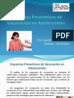 Esquemas Preventivos de Vacunacin en Adolescentes