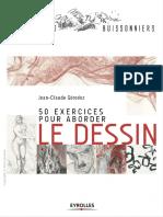 50 exercices pour aborder le dessin - Eyrolles.pdf
