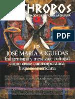 José M.ª Arguedas. Indigenismo y Mestizaje Cultural Como Crisis Contemporánea Hispanoamericana - VV.aa