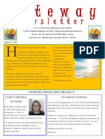 Gateway Newsletter Summer 2018