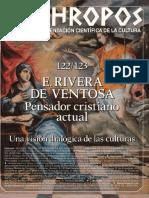 E. Rivera de Ventosa. Pensador Cristiano Actual - VV.aa