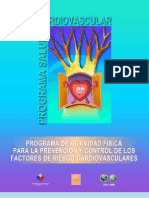 Programa de Actv Fisica Para Prevencion y Control de Factores de Riesgo Cardiovasculares