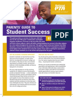 pta parent guide for success 6th grade
