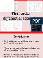 4 Fp2 First Order Differential Equations
