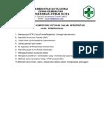 Bab 8.1.1.G Syarat Kompetensi Petugas Interpretasi Hsl Lab