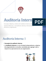 Auditoria Interna I