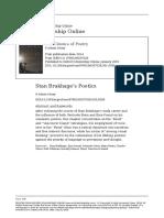 P. Adams Sitney - Poética de Brakhage