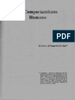 29-(05) El Comportamiento Humano (Carlos Eduardo Cobo)