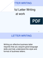 Writing Letters[ Notes