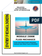 J3008 Fluid Mechanics