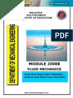 J3008 Fluid Mechanics