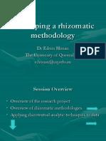 Developing a Rhizomatic Methodology