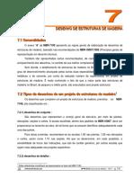 Apostila - Madeira - UFPR - Cap. 7 - Desenho de Estruturas de Madeira.pdf