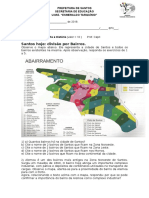 Atv Geo Abairramento de Santos 2018 Esmeraldo Tarquínio