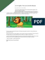 Fábulas Infantiles en Inglés