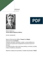 Alberto Masferrer