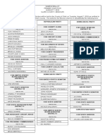 Clark County Sample Ballot 2018 Primary