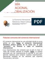 Economc3ada Internacional y La Globalizacic3b3n 2011
