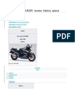 Kawasaki GPX400R