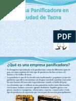 Empresa Panificadora en La Ciudad de Tacna