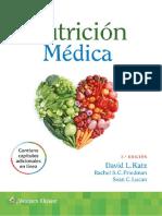 Nutrición Médica, 3 Edición - David L. Katz & Rachel S. C. Friedman & Sean C. Lucan