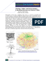 Review of technology, culture, and socioeconomics - A Rhizoanalysis of Educational Discourses