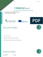 TAU Seminar 2 Material [Part 2]
